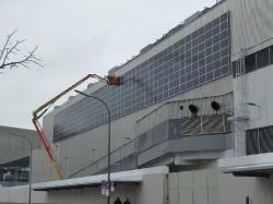 84 kWp Fassadenanlage München