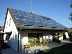 10 kWp auf Einfamilienhaus