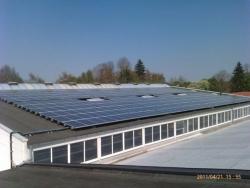 90 kWp auf Industriedach in Schwabmünchen,